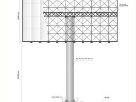 Thiết kế thi công kết cấu biển tấm lớn