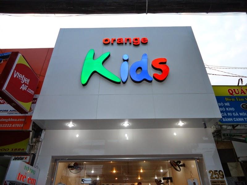 Biển shop thời trang trẻ em